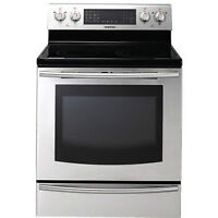 Cuisinière Induction 5,9 pi³ Stainless Samsung NE597N0PBSR
