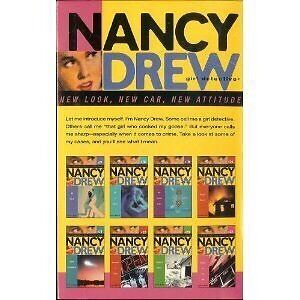 Nancy Drew Girl Detective #17-24 Boxed Set 3