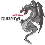 midana-sticker