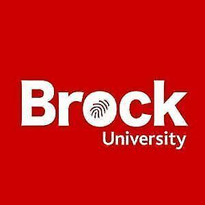 BROCK UNIVERSITY:  Year 1 and Year 2 Textbooks