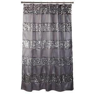 Beaded Shower Curtain Panels
