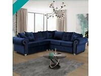 Amazing Discounted Deals , Designer Corner sofa Large Padded Seating Cushioons , Beautiful Colours