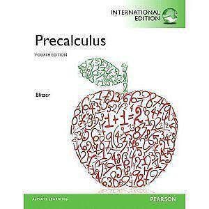 Precalculus books ebay precalculus blitzer fandeluxe Images