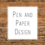 Pen and Paper Design