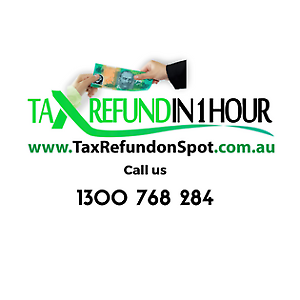 TAX REFUND ON SPOT , 100% ONLINE