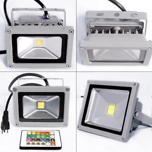 Rgb led light ebay rgb led flood lights mozeypictures Images