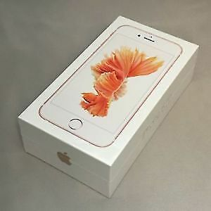 Brand new sealed unlocked rose gold iPhone 6s 32gb