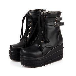 355bf5ffca1 Gothic Platform Boots