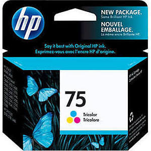 NEW unopened Genuine HP 75 Photosmart Ink Cartridge