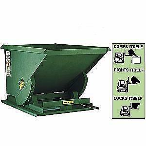 SELF DUMPING HOPPERS - FOR STEEL SCRAP, GARBAGE, WOOD