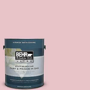 Behr paint and primer in CRANBERRY APPLE