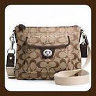 Coach Crossbody Swingpack Brown