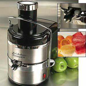 Jack Lalanne's JLSS Power Juicer Elite Stainless-Steel Electric