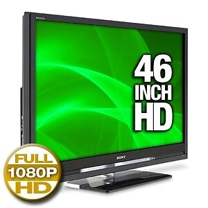 """SONY 1080p 46"""" BRAVIA® LCD HDTV with 120Hz refresh rate"""