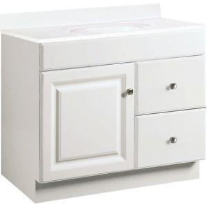 Bathroom Vanities 36 X 19 36 bathroom vanity | ebay