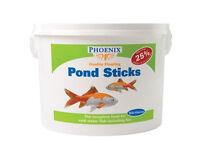 Phoenix Koi Fish Food Pond Pellets