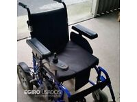Motorized Wheel Chair. Powerful new batteries. Drive on console right/left hand
