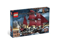 DISCONTINUED Lego Pirates of the Caribbean 4195 Queen Anne's Revenge!!