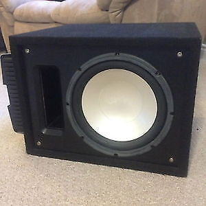 """12"""" Infinity car subwoofer with Rockford Fosgate Amp, Best Offer"""