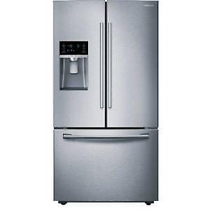 Réfrigérateur SAMSUNG de 25,5 pi³ avec eau et glace RF26J7500SR