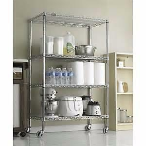 WIRE SHELVES and SHELVING-Chrome and Black Coated--AMAZING DEALS!!