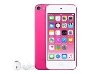 iPod touch pink 16gb like new with cover