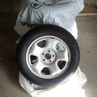 "17"" OEM Honda Acura Michelin X-ice winter tires and rims"