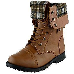 d85a32b3e7a4 Girls Combat Boots