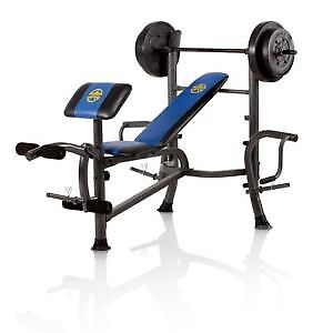 BENCH PRESS COMPLET