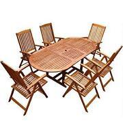 Sitzgruppe Holz
