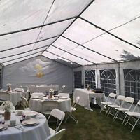 PARTY TENTS AND RENTALS!! FOLDING CHAIR RENTALS and MORE!!!!