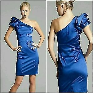 Guess by Marciano Royal Blue Dress Size 2 - Small