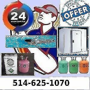 Freon refill service for  pool heater AC and cooler and Freezer