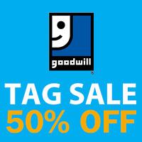 GOODWILL Customer Appreciation Sale OCT 28