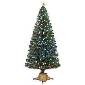 artificial fiber optic christmas tree