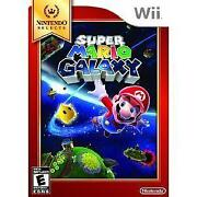 Super Mario Galaxy Wii New