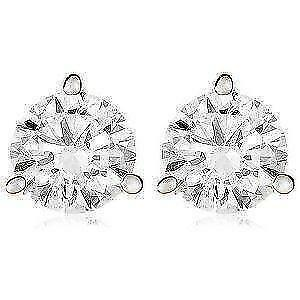 1 Ct Moissanite Earrings