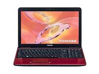 PROFESSIONALLY REFURBISHED TOSHIBA L750, 4GB RAM, 320GB HD, INTEL 2.10GHZ, WEBCAM, HDMI 6 MTHS WRNTY