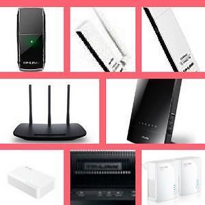 WeekPromotion! Wireless USB Adapter/ Wireless N Router/Powerline/ WiFi Range  Extender/ Desktop Switch,   Load Balance B