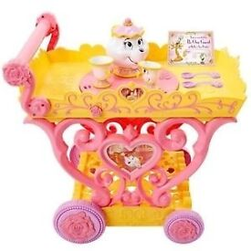 Disney Belles musical tea party trolley