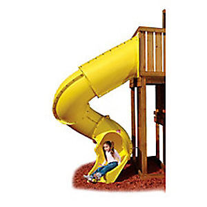 Turbo Tube Slide & Climbing Wall