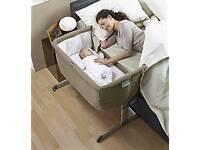 Chicco Next 2 Me Bedside Crib (dove grey)