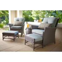 5-Piece Chat Patio Set - Sell or trade