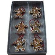 Gingerbread Man Tree Decoration