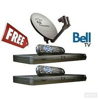 JANUARY BELL SATELLITE TV HDPVR+2x3100+CREDIT+INSTALLED ALL FREE