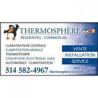 Thermosphere Climatisation Chauffage