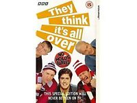They Think Its All Over Vhs Video