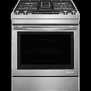 ***********JennAir JDS1750ES Slide-In GAS Downdraft Range $311/m