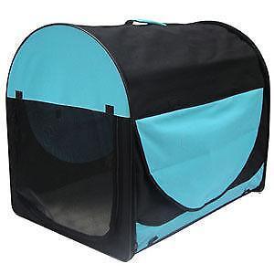 faltbare hundebox transportboxen taschen ebay. Black Bedroom Furniture Sets. Home Design Ideas