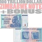 Zimbabwe 100 Trillion Dollar Note